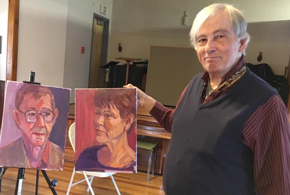 Tom Martino Portrait Painting